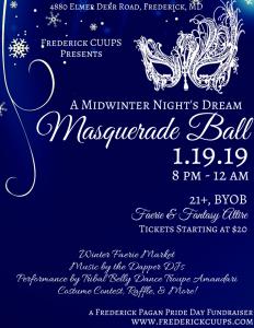 Masquerade Flyer 2019